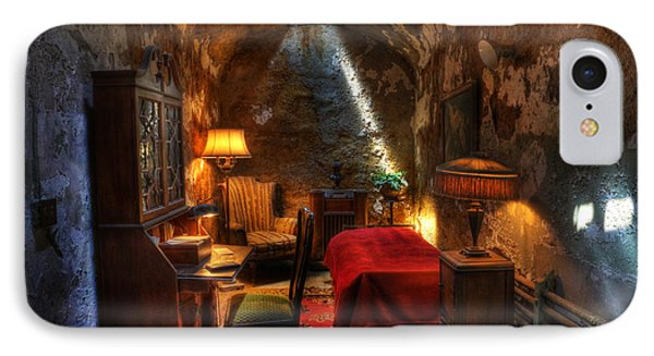 Al Capone's Cell II - Easton State - Scarface - The Syndicate - The Chicago Outfit - Capones  IPhone Case by Lee Dos Santos