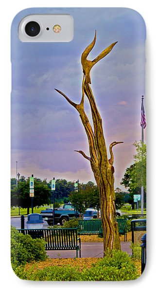 Alabama Rest Area IPhone Case by Shelley Bain