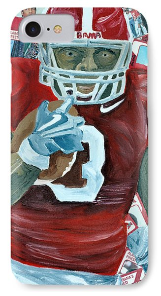Alabama Running Back Phone Case by Michael Lee
