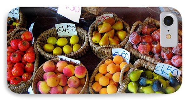 Alabaster Fruit Phone Case by Carla Parris