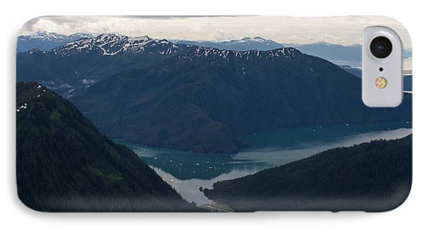 Alaska Coastal Serenity Phone Case by Mike Reid