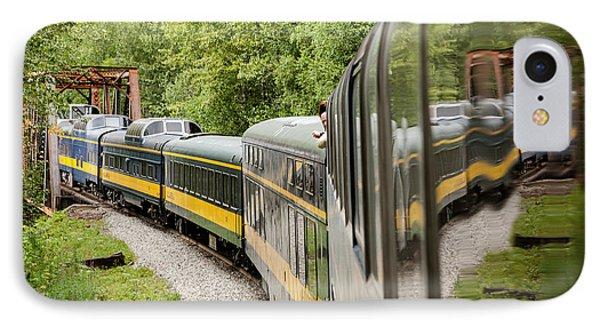 Alaska Railroad Four Phone Case by Josh Whalen