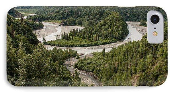 Alaska Railroad Two Phone Case by Josh Whalen