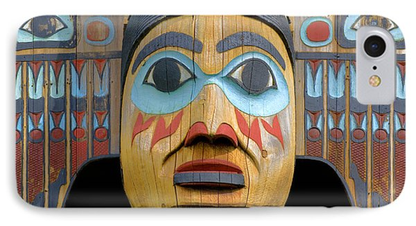 Alaska Totem IPhone Case by Mark Greenberg