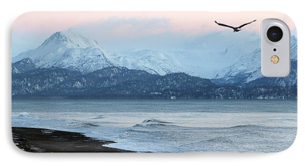 IPhone Case featuring the photograph Alaskan Beach At Sunset by Michele Cornelius
