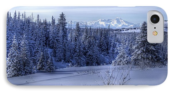 IPhone Case featuring the photograph Alaskan Winter Landscape by Michele Cornelius