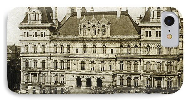 Albany New York - State Capitol Building - C 1900 Phone Case by International  Images