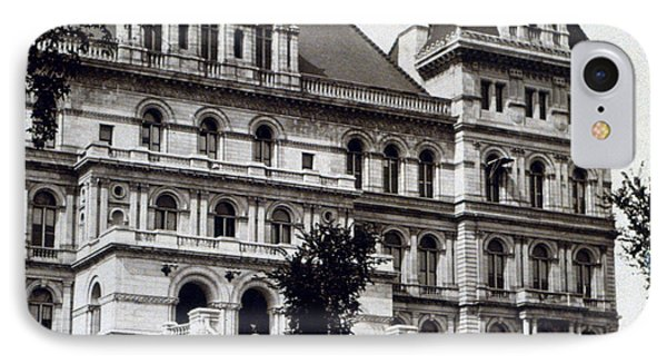 Albany New York - State Capitol Building - C 1903 Phone Case by International  Images