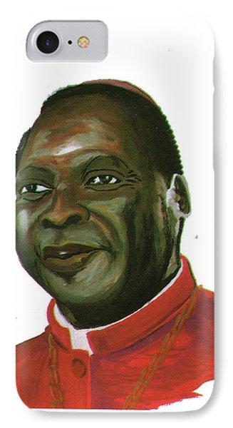 Albert Ndongmo Phone Case by Emmanuel Baliyanga