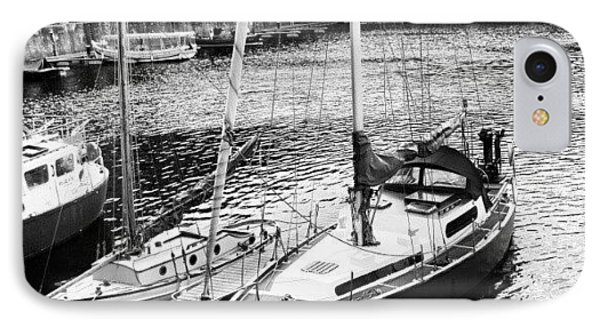 #albertdock #liverpool #harbor #boat IPhone Case by Abdelrahman Alawwad