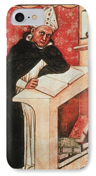 Albertus Magnus, Medieval Philosopher Phone Case by Photo Researchers