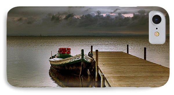 Albufera Before The Rain. Valencia. Spain IPhone Case by Juan Carlos Ferro Duque
