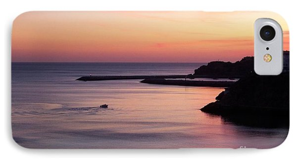 IPhone Case featuring the photograph Albuferian Sunset by Lynn Bolt