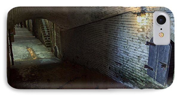 Alcatraz 1866 Tunnel Phone Case by Daniel Hagerman