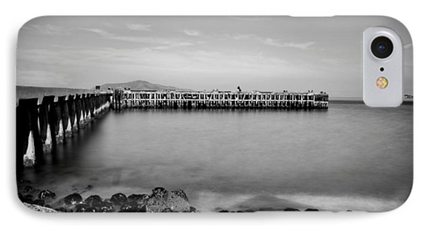 Alcatraz From Fort Point Phone Case by Tanya Harrison