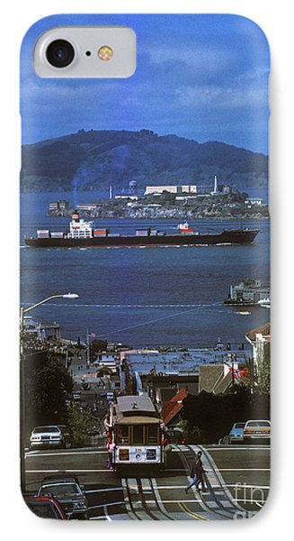 Alcatraz From San Fran Hilltop IPhone Case by Paul W Faust -  Impressions of Light