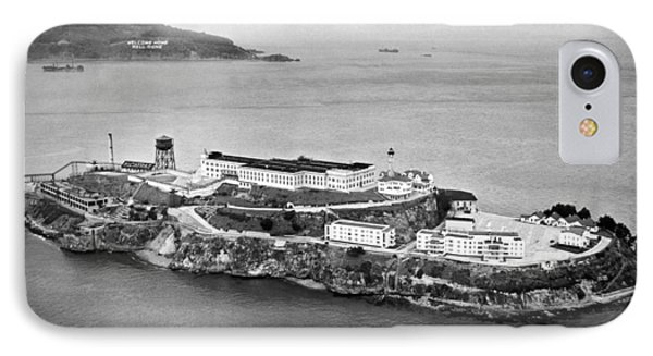 Alcatraz Island And Prison IPhone Case