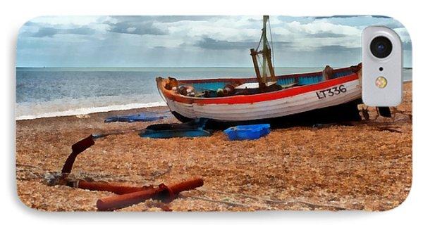 Aldeburgh Fishing Boat IPhone Case