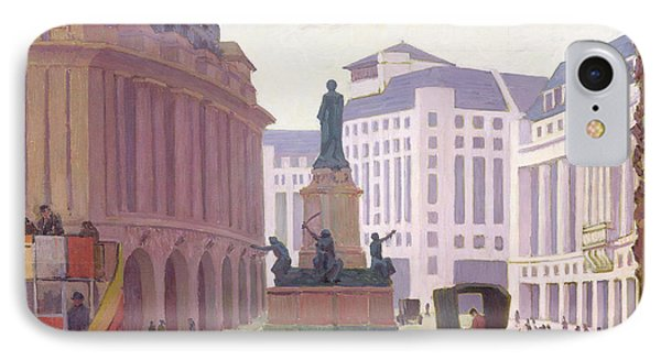 Aldwych  IPhone Case by Robert Polhill Bevan