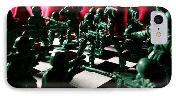 Alekhine's Gun Phone Case by Lon Casler Bixby