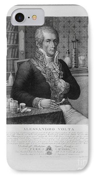 Alessandro Volta, Italian Physicist Phone Case by Omikron