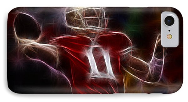 Alex Smith - 49ers Quarterback Phone Case by Paul Ward