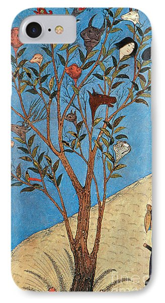 Alexander The Great At The Oracular Tree Phone Case by Photo Researchers