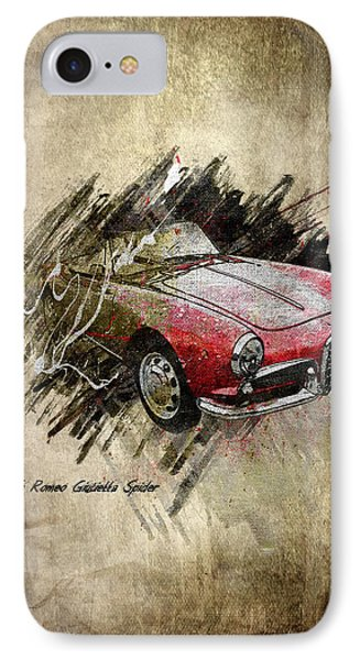Alfa Romeo Phone Case by Svetlana Sewell
