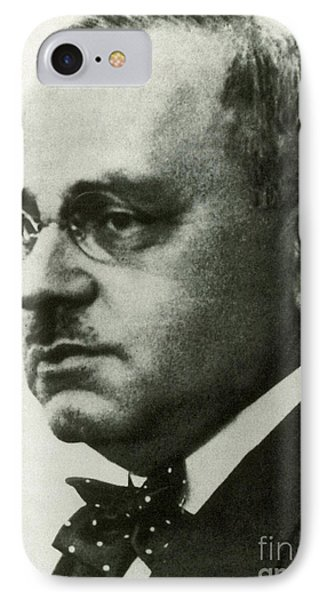 Alfred Adler, Austrian Psychologist IPhone Case by Science Source