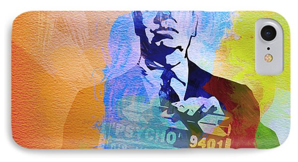 Alfred Hitchcock IPhone Case by Naxart Studio