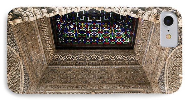 Alhambra Stained Glass Detail IPhone Case