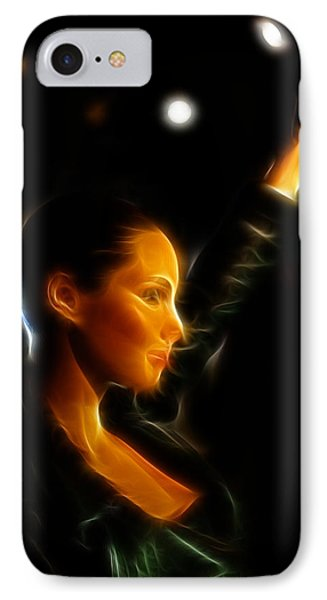 Alicia Keys - Singer Phone Case by Lee Dos Santos