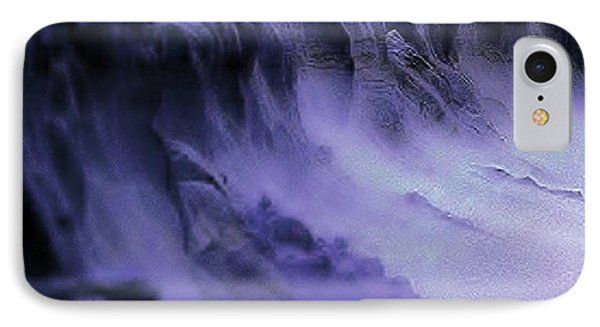 IPhone Case featuring the photograph Alien Landscape The Aftermath by Blair Stuart