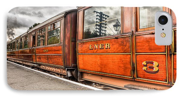 All Aboard IPhone Case by Adrian Evans
