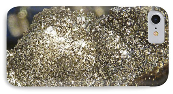 IPhone Case featuring the photograph All That Glitters Is Definitely Cold by Steve Taylor