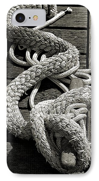 All Tied Up IPhone Case by Bob Wall