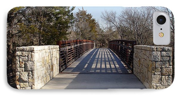 Allen Station Bridge IPhone Case by Jerry Bunger