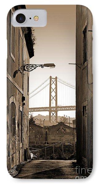 Alley And Bridge Phone Case by Carlos Caetano