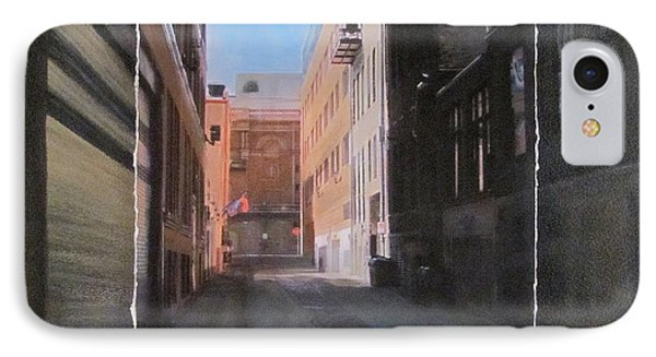 Alley Front Street Layered Phone Case by Anita Burgermeister