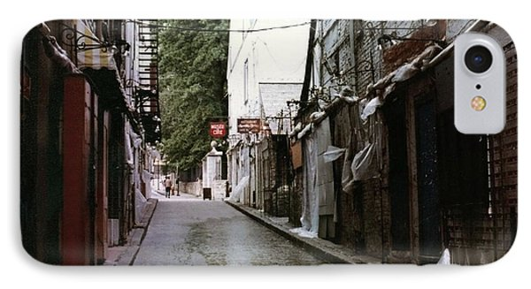 Alley In Old Quebec IPhone Case by Cedric Hampton