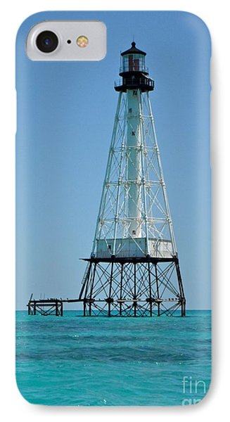 Alligator Lighthouse IPhone Case by Carol  Bradley