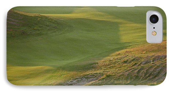 IPhone Case featuring the photograph Almost Done - Chambers Bay Golf Course by Chris Anderson