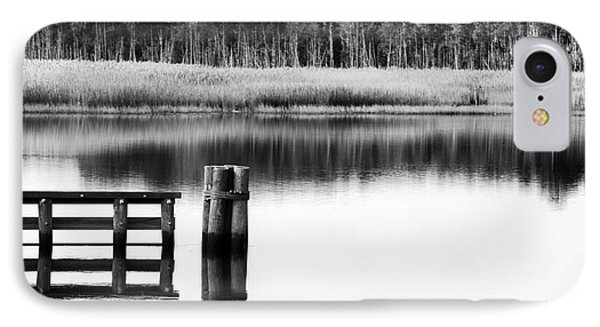 Alone In The Pine Barrens Phone Case by John Rizzuto