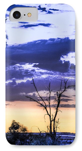 IPhone Case featuring the photograph Alone by Marta Cavazos-Hernandez