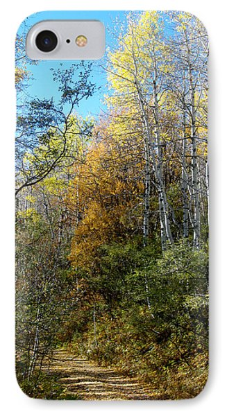 IPhone Case featuring the photograph Along The Back Road by Vicki Pelham