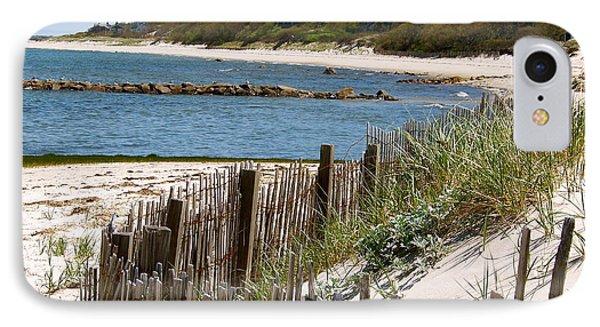 Along The Shoreline Of Brewster Beach IPhone Case by Robin Regan