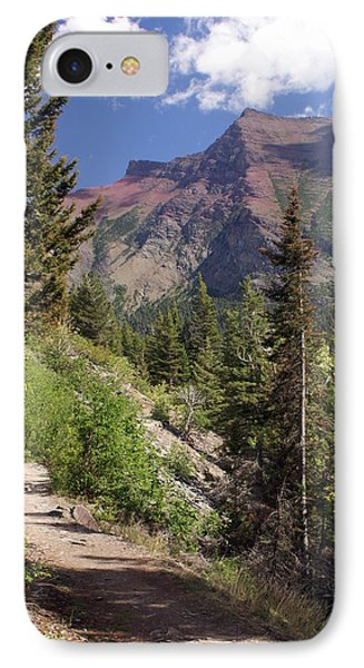 Along The Trail Phone Case by Marty Koch