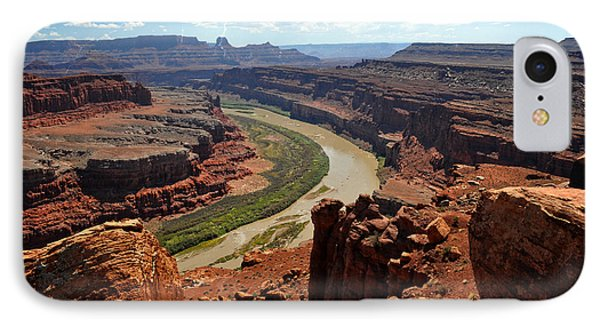 Along The White Rim Road Phone Case by Marty Koch
