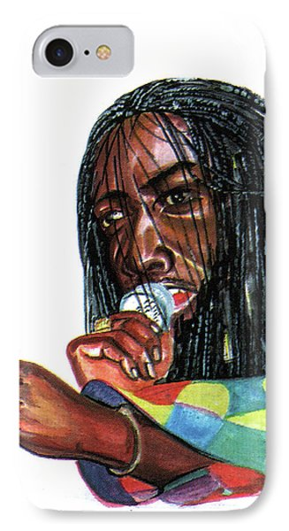 Alpha Blondy IPhone Case