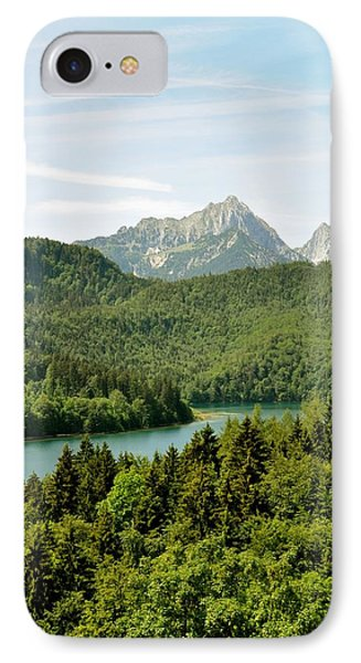 IPhone Case featuring the photograph Alps From Bavaria by Rick Frost